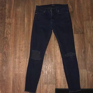 🍁j brand cropped skinny mercy jeans